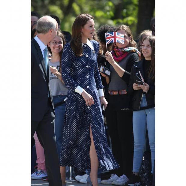 Практически Мэри Поппинс: Кейт Миддлтон посетила Блетчли-парк