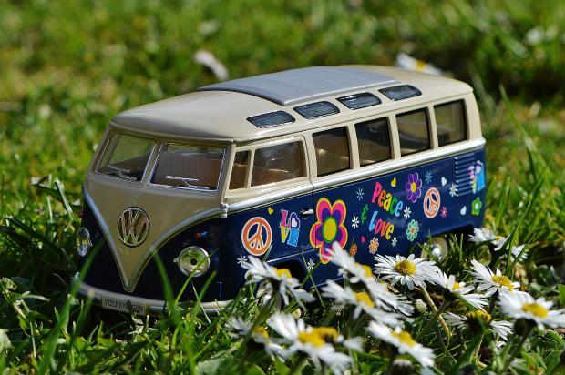 Букет цветов в машине, натхнення, Квіти, Жіноча мода