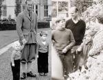 Принц Филипп с детьми