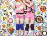 Александра (9 лет, слева) и Джессика (8 лет, справа) Льюис, Альтадена, Калифорния, США