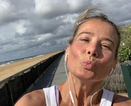 Юлия Высоцкая не боится показать себя без прикрас и изысков: фото с прогулки актрисы