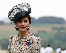 Кейт Миддлтон в роскошном голубом платье-миди прибыла на Royal Ascot