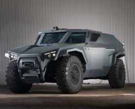 Volvo представила новый бронированный автомобиль способный передвигаться боком