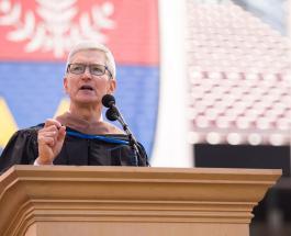 Лучшие советы Тима Кука студентам: генеральный директор Apple выступил перед выпускниками