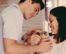 Свадебная фотосессия в питомнике: необычное решение влюбленной пары