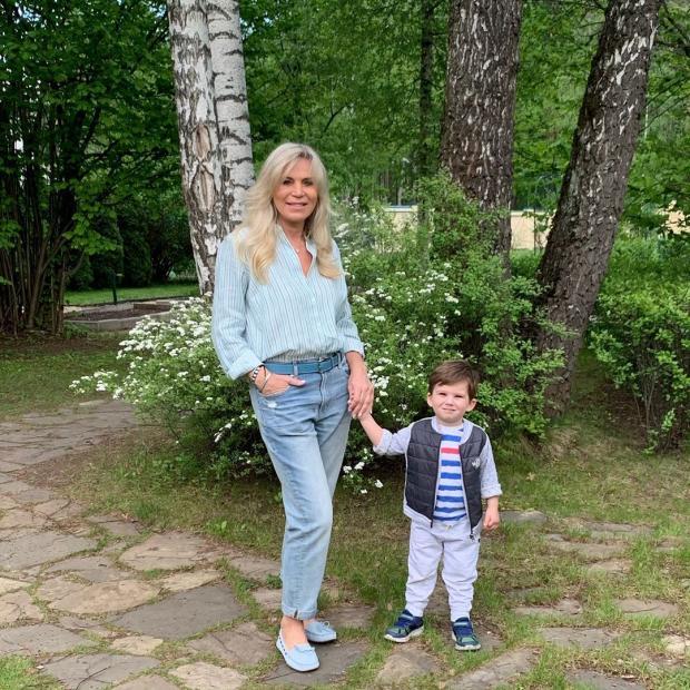 марина юдашкина с внуком