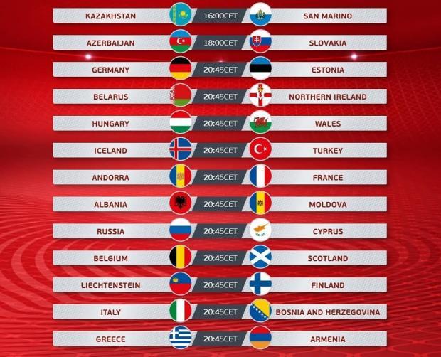 футбол евро 2020
