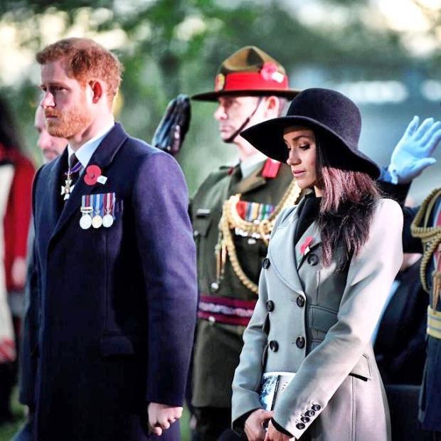 Принц Гарри иМеган Маркл решили уехать вАфрику