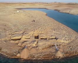 3400-летний дворец обнаружен в Ираке в результате понижения уровня воды в водохранилище