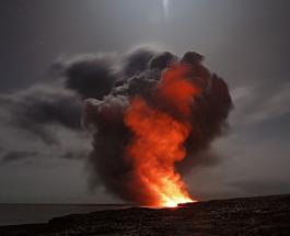 На Сицилии произошло извержение вулкана Этна – самого крупного в Европе