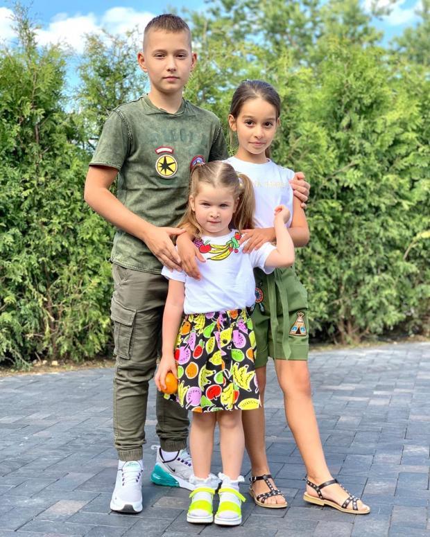Дети Бородиной