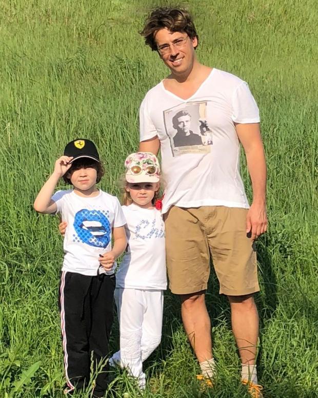 Галкин и дети