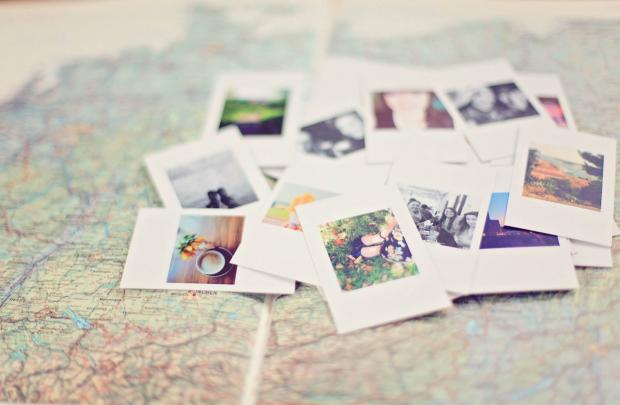 фотографии на картах