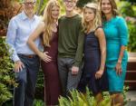 Семья Билла Гейтса - жена и трое детей