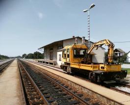 Аварию на железной дороге в Чехии снял на видео случайный очевидец происшествия