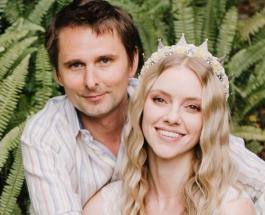 Мэттью Беллами женился: отец ребенка Кейт Хадсон показал первое фото со свадьбы