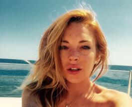 Линдси Лохан - похожа на рыжеволосую русалку: восхитительные фото актрисы на пляже