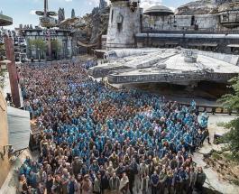 """Новый тематический парк по мотивам """"Звездных войн"""" открылся в США"""