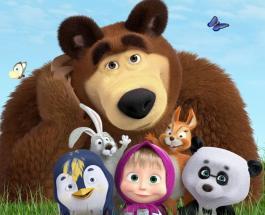 Маша и Медведь покоряют мир: российский мультсериал увидят дети из Великобритании
