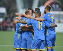 Сборная Украины по футболу обыграла Литву в отборочном турнире на Евро 2020