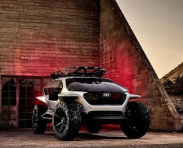 Audi AI: TRAIL quattro с электродвигателем – внедорожник будущего