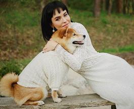 Женственная Даша Астафьева: знаменитость снялась в нежной фотосессии с домашними любимцами