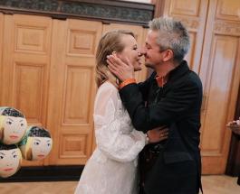 Собчак и Богомолов на свадьбе прокатились в катафалке: в Сети считают что Виторгану повезло