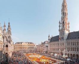 Парад воздушных шаров с персонажами комиксов – праздник и веселье в Брюсселе