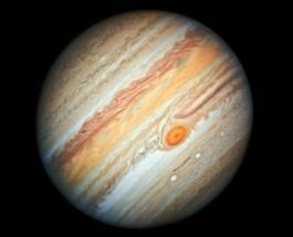 Как выглядело бы солнечное затмение на Юпитере - удивительные кадры из космоса