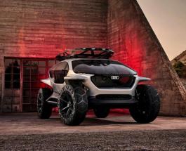 Дроны вместо фар: Audi представила концепт-кар с удивительными характеристиками