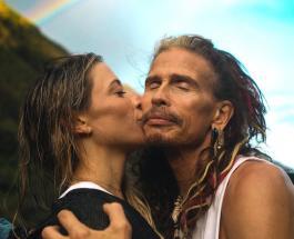 Исхудавший 71-летний Стивен Тайлер вышел в свет с молодой возлюбленной