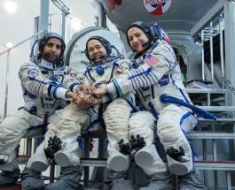 Первый в истории космонавт ОАЭ стартует в космос в компании американки и россиянина