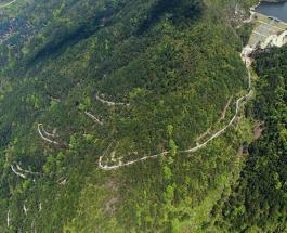 Рекорд Гиннесса: водная горка на склоне горы в Китае признана самой длинной в мире