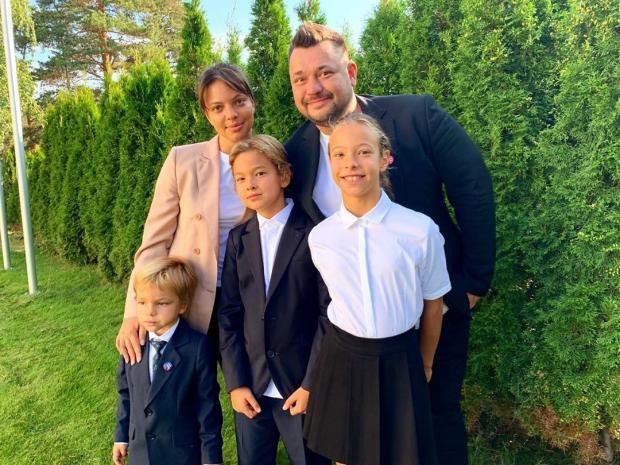 Сергей Жуков и семья