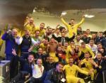 Видео из раздевалки сборной Украины по футболу: парни празднуют победу над Португалией