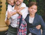 Мужская половина семьи Родригеза
