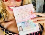 Этим селфи Надя Сысоева сообщила о готовности к путешествиям