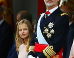 Принцесса Леонор и король Испании