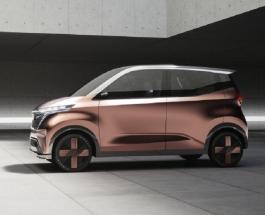 Nissan представил новый электрокар с голографическими панелями снимающими стресс
