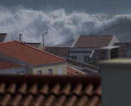 Ураган Лоренцо нанес ущерб Азорским островам приближаясь к Великобритании