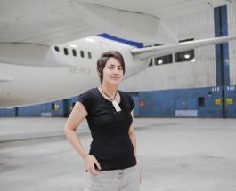 """30-летняя немка заявила на весь мир о своем пятилетнем """"романе"""" с самолетом Боинг-737"""