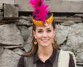 Кейт Миддлтон - азиатская принцесса: Ее Высочество в белом сальвар-камизе прибыла в Лахор