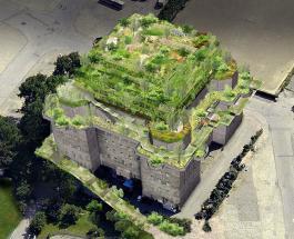 Зенитный бункер времен Второй мировой войны превратят в роскошный отель с садом на крыше