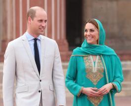 Искренние эмоции Кейт Миддлтон и Принца Уильяма во время путешествия в Пакистан