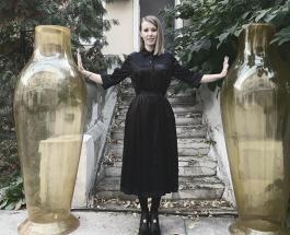Ксения Собчак с заметно округлившимся животом появилась на публике
