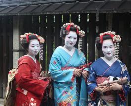 Туристов в Киото будут штрафовать за попытку сделать фото с гейшами и майко