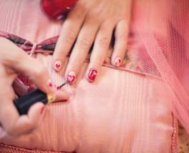 Бордовый маникюр: насыщенное очарование и глубокий цвет модного нейл-арта