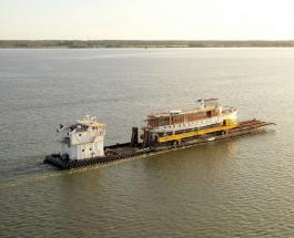 """В Америке восстанавливают яхту служившую """"плавучим Белым домом"""" для восьми президентов США"""