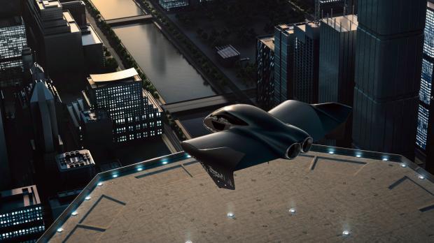 Porsche и Boeing совместно займутся разработкой летающего электрического транспорта с с вертикальным взлетом и посадкой