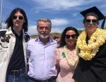 Пирс Броснан с сыновьями и женой